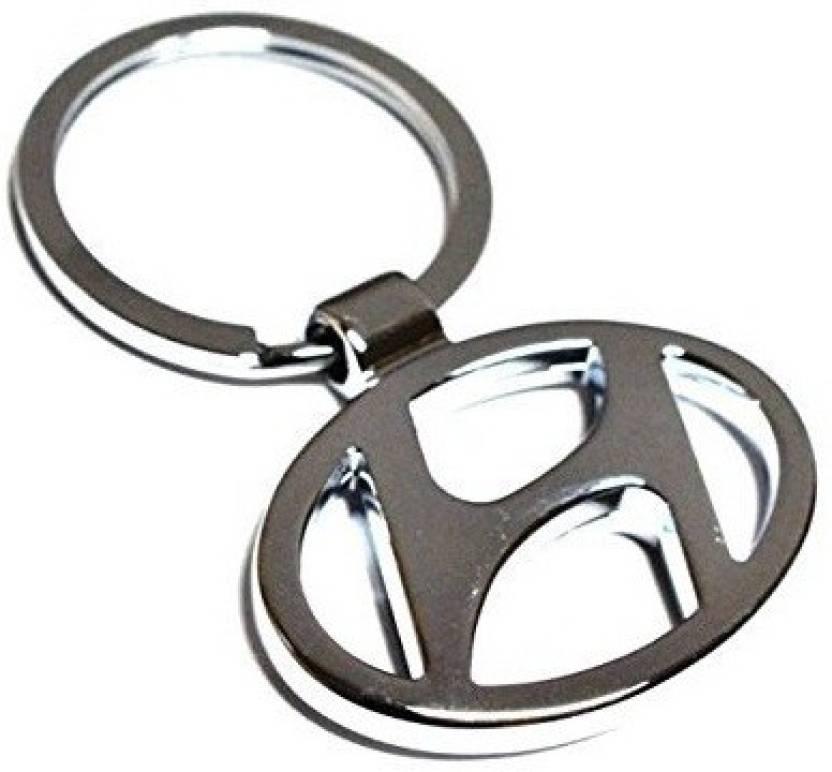 Autosun Hy 10 Chrome Plated Steel Imported Car Logo For Hyundai Key