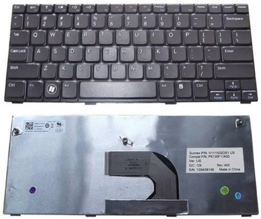 Rega It Dell Inspiron Mini 1018 Laptop Keyboard Replacement Key