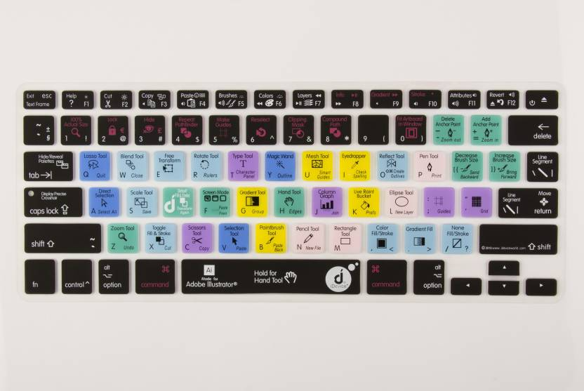 separation shoes 89fe8 e613b iDevice Plus Ableton Live 13'' Keyboard Skin. Laptop Keyboard Skin ...