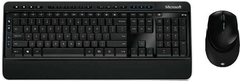 3bb21d72a63 Microsoft Desktop 3000 Wireless Laptop Keyboard - Microsoft ...