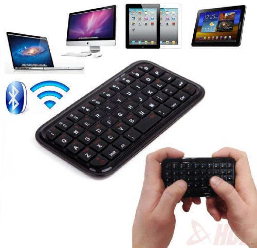 ROQ Mini Wireless Bluetooth Keyboard Keypad For Mobile Phones, Iphones,  Ipod, Ipad And Tablets Bluetooth Tablet Keyboard