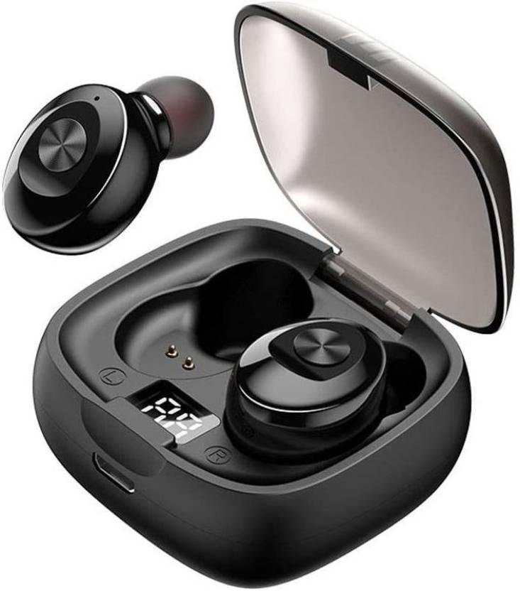 fiado X 8 high bass wireless Bluetooth Headset Black, True Wireless