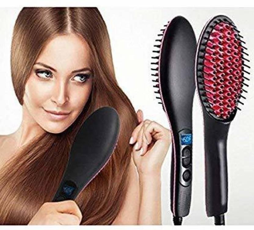GNV 1111 Hair Straightener Black