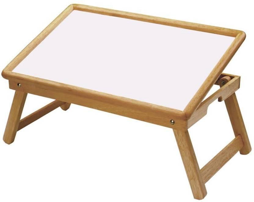 Taaza Garam Wooden White Top Folding Kids Home Office Reading