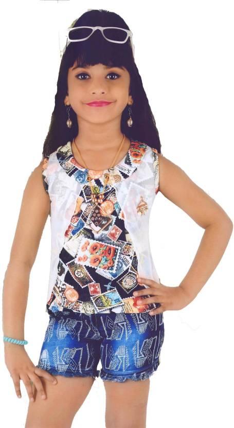 db23b14586 Hey Baby Girls Party(Festive) Top Poncho Price in India - Buy Hey ...