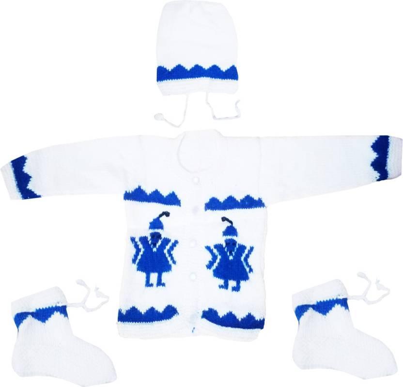 3ce97e6ef495 Dadima Ki Bunai Boys   Girls Casual Sweater Sweater Price in India ...