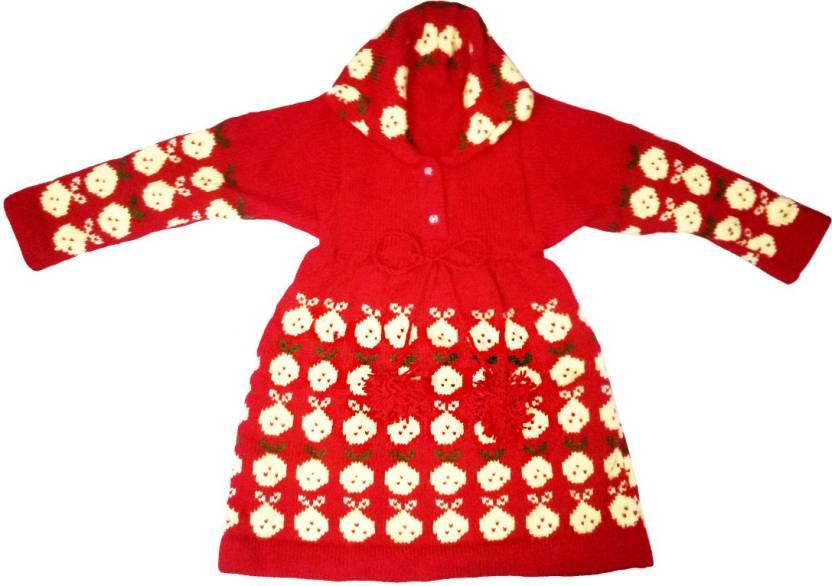 ea4513ede382 Dadima Ki Bunai Girls Casual Sweater Sweater Price in India - Buy ...