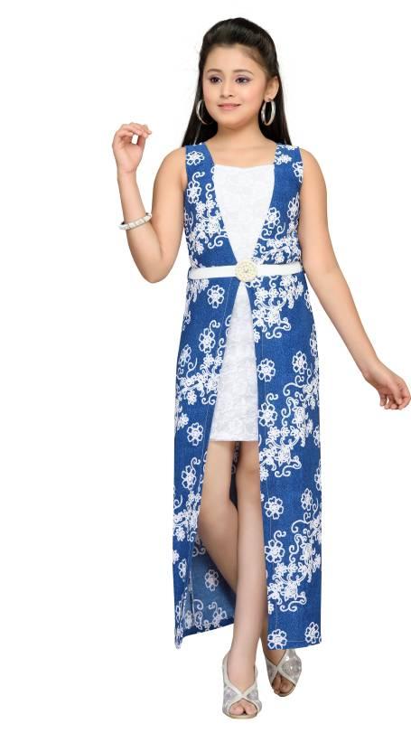 fc027b741521 Hunny Bunny Girls Maxi Full Length Party Dress Price in India - Buy ...