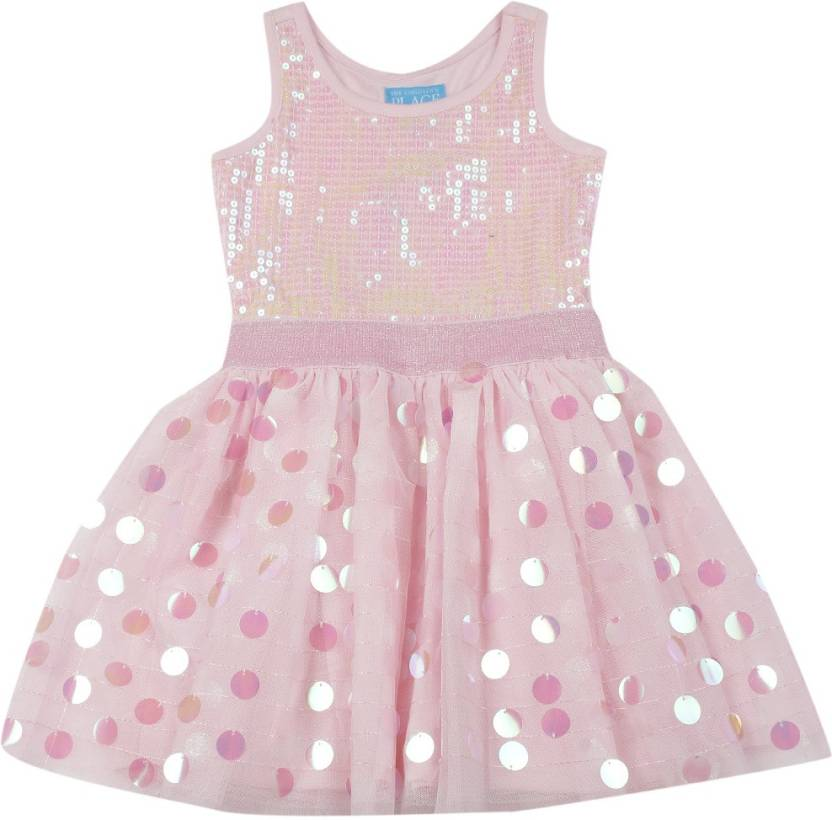 386709905eb0 The Children s Place Girls Midi Knee Length Casual Dress Price in ...