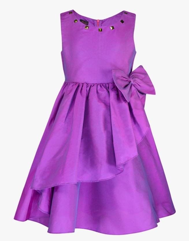 Pspeaches Girls Midi/Knee Length Party Dress Price in India - Buy ...
