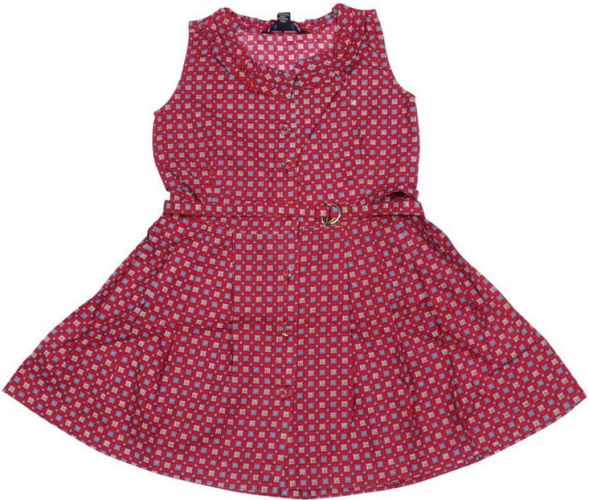 fd68b6f33c3c Old Khaki Girls Midi/Knee Length Casual Dress Price in India - Buy ...