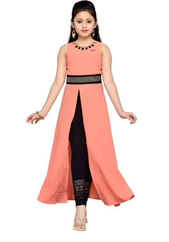 Hunny Bunny Girls Maxi/Full Length Party Dress Price in India - Buy ...