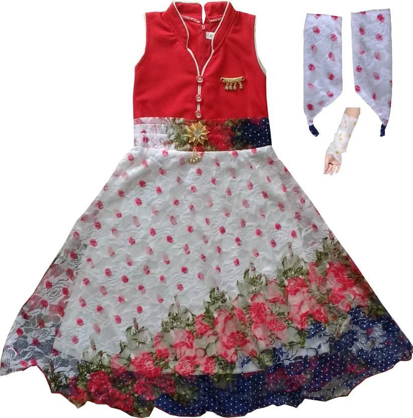 f236c243774 MKB Baby Girl s Maxi Full Length Casual Dress Price in India - Buy ...
