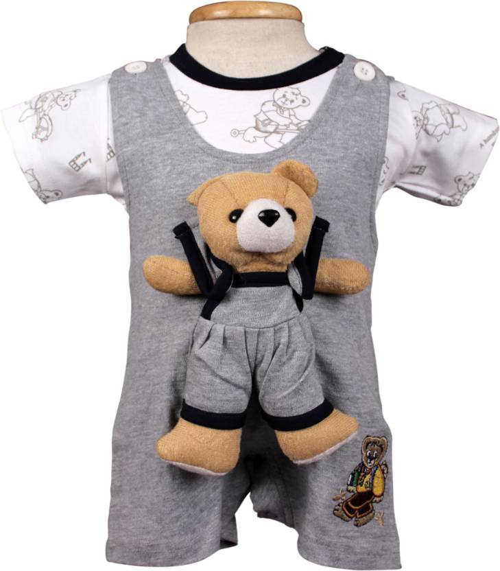 2499bca57 WOW! Romper For Boys Solid Cotton