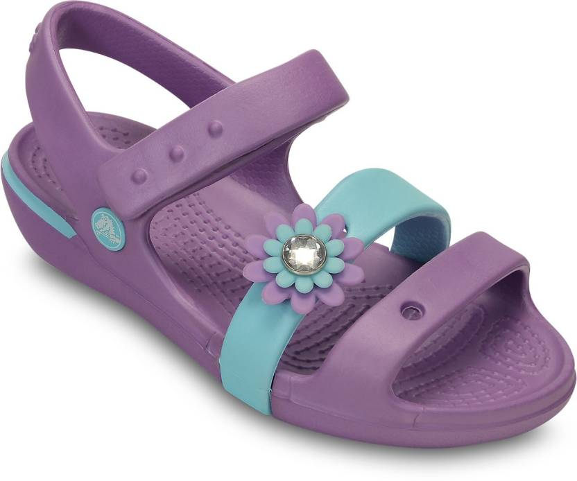 przyjazd najlepsza cena najlepszy Crocs Girls Velcro Sports Sandals