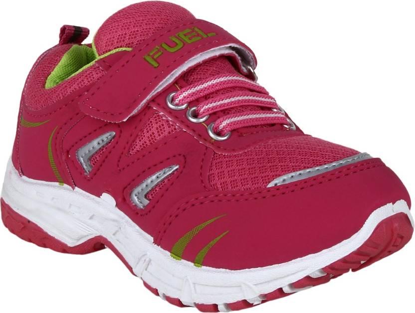 official photos 2c4a2 d6280 Fuel Boys   Girls Velcro Running Shoes (Pink)