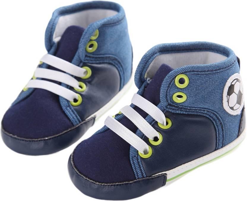 Abdc Kids Boys Lace Casual Boots Blue