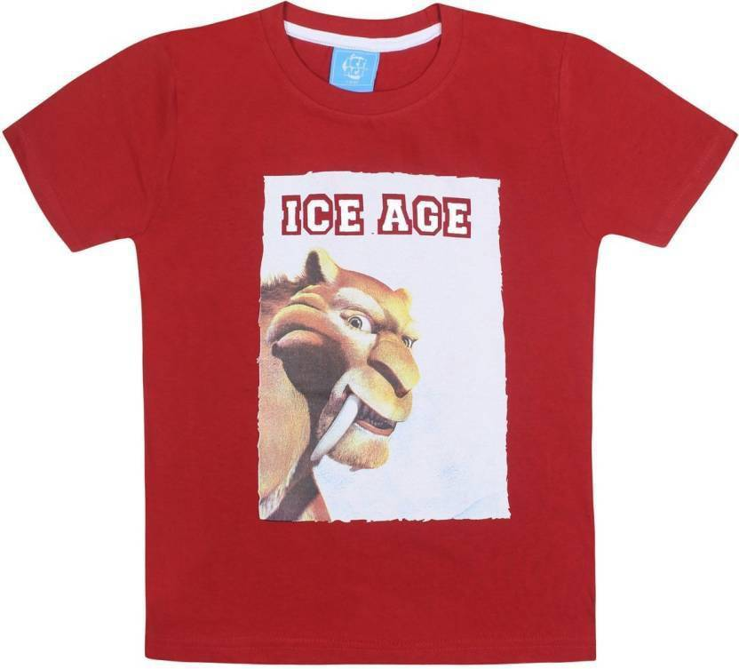 63d51d290 Ice Age Boys Printed Cotton T Shirt Price in India - Buy Ice Age ...