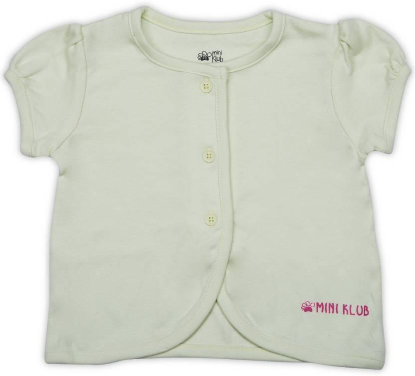 4d65620cc45ec FS Mini Klub Girls Solid Cotton T Shirt Price in India - Buy FS Mini ...