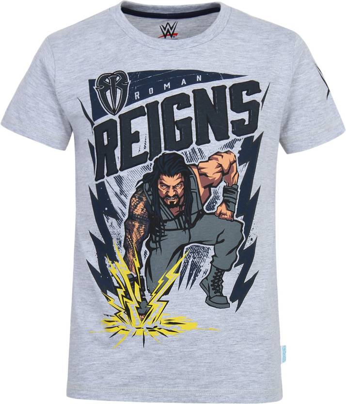 4ba9cc07193 WWE Boys Printed Cotton Polyester Blend T Shirt Price in India - Buy ...