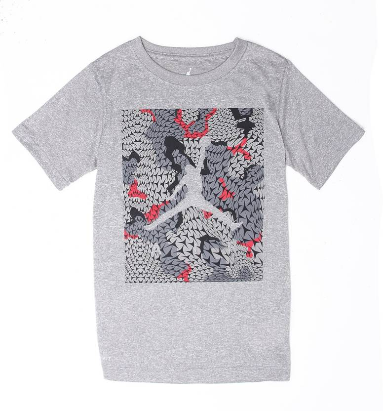 6a768d9cd78 Jordan Boys Graphic Print Cotton T Shirt Price in India - Buy Jordan ...