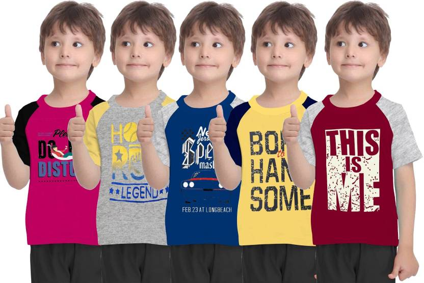 d12723b13 HD Hunter Douglas Boys Printed T Shirt Price in India - Buy HD ...