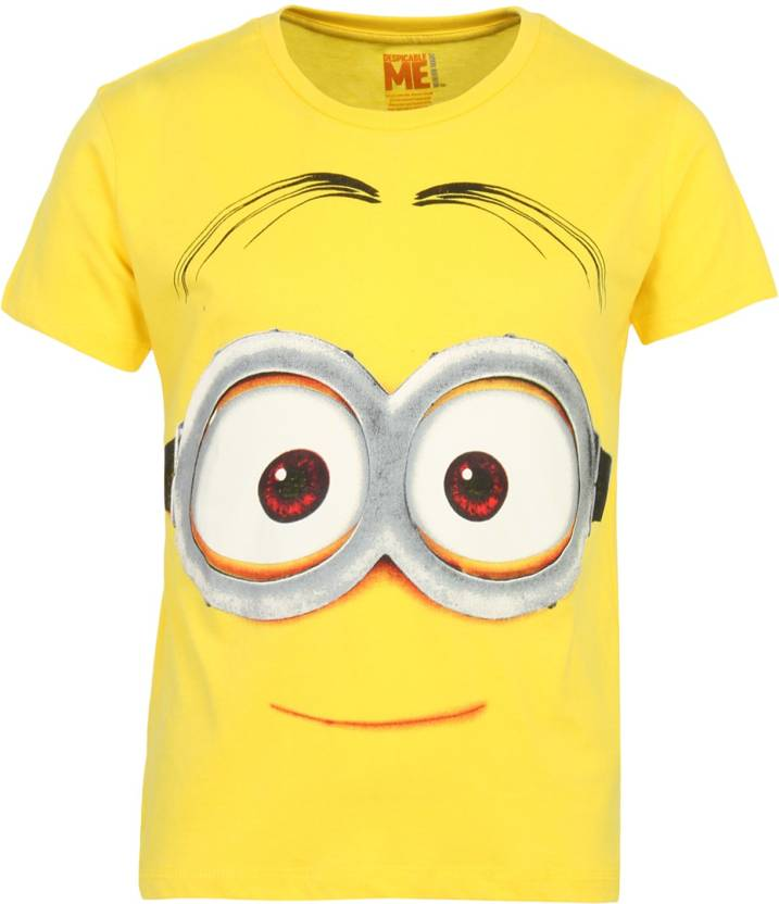 8bc5c79d Minions Boys Printed Cotton T Shirt Price in India - Buy Minions ...