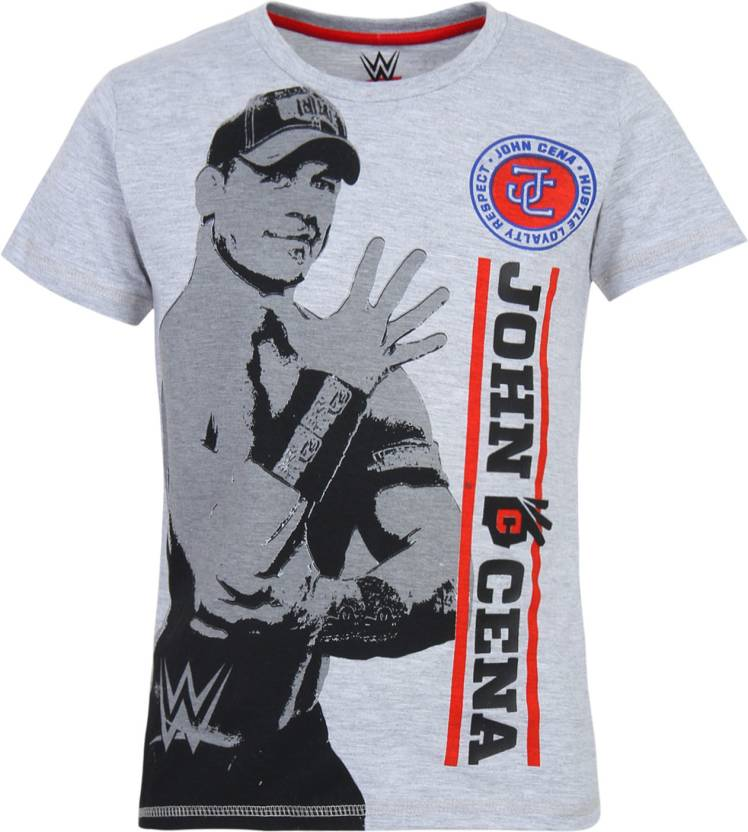 4aaf7ba26 WWE Boys Printed Cotton Polyester Blend T Shirt Price in India - Buy ...
