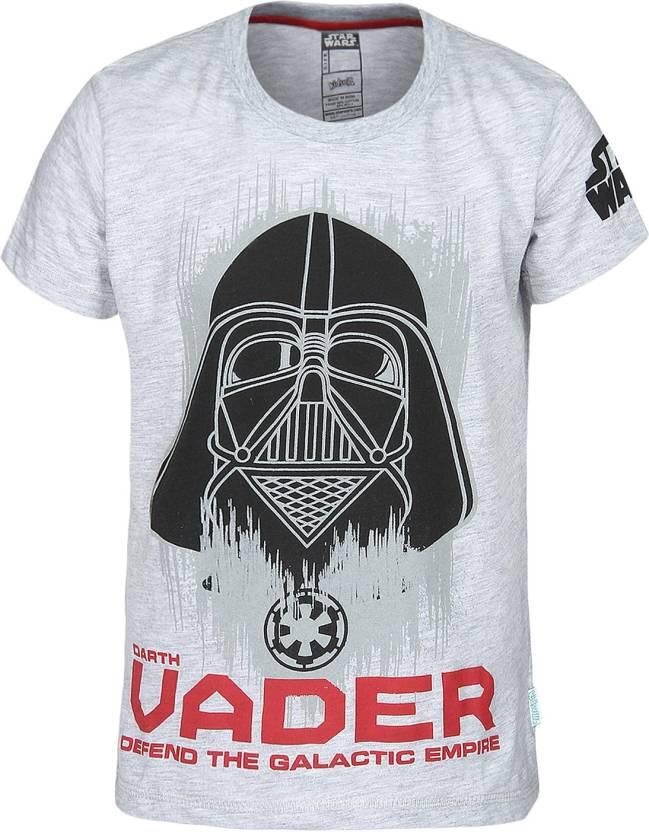 7affd890 Star Wars Boys Printed Cotton Polyester Blend T Shirt Price in India ...