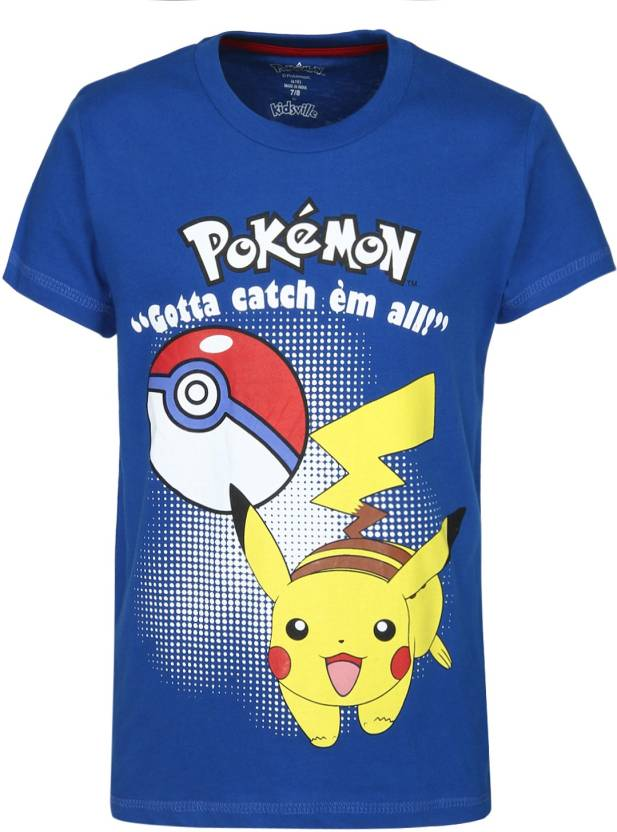 df0511605 Pokemon Boys Printed Cotton T Shirt Price in India - Buy Pokemon ...