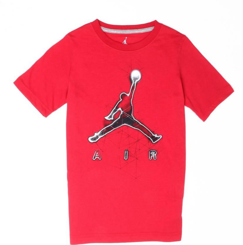 meilleur service 4ab54 7f415 Jordan Boys Graphic Print Cotton T Shirt