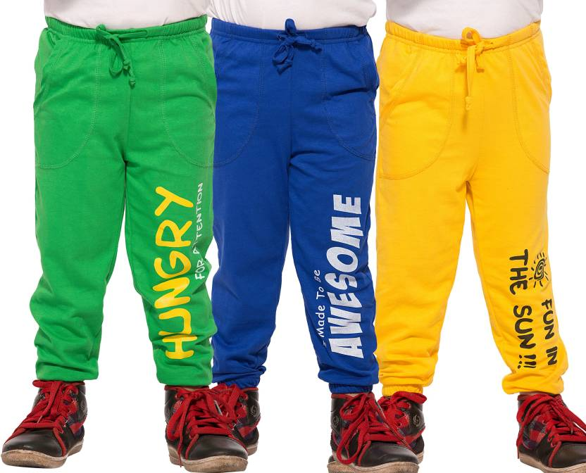 Maniac Track Pant For Boys  (Multicolor)
