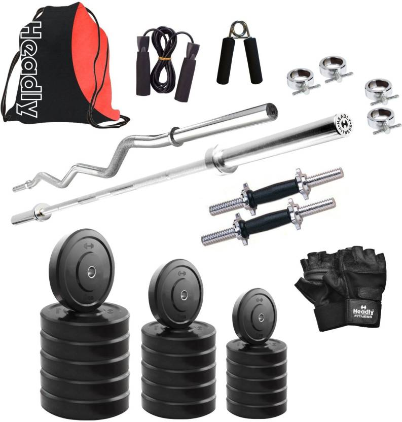 Headly hr 10 kg combo 2 home gym kit buy headly hr 10 kg combo 2