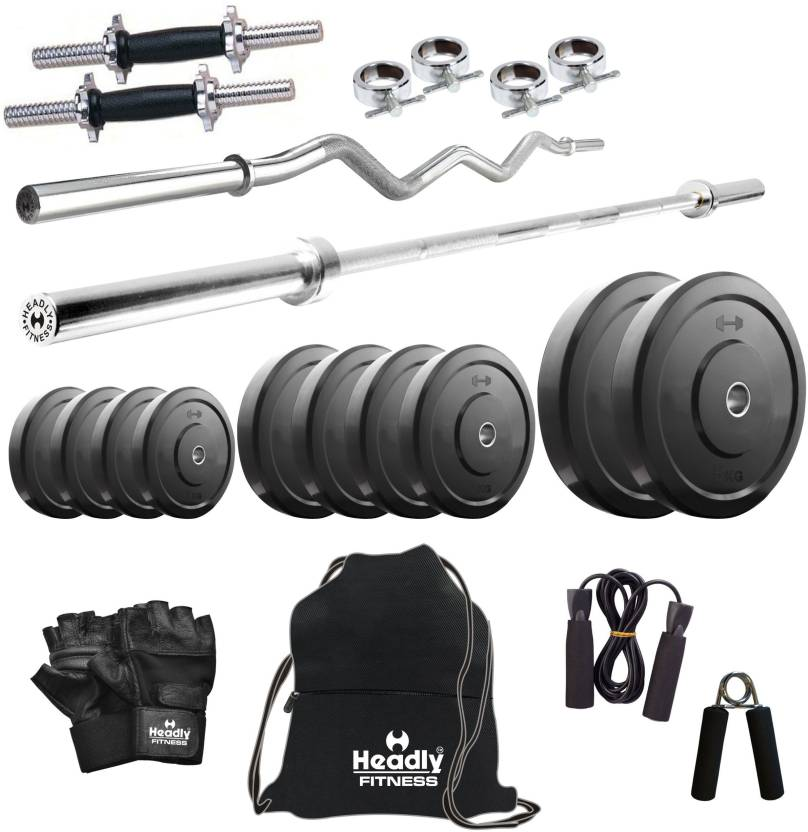 5e74fab3448 Headly 40 kg Combo 2 Home Home Gym Kit - Buy Headly 40 kg Combo 2 Home Home  Gym Kit Online at Best Prices in India - Home Gym