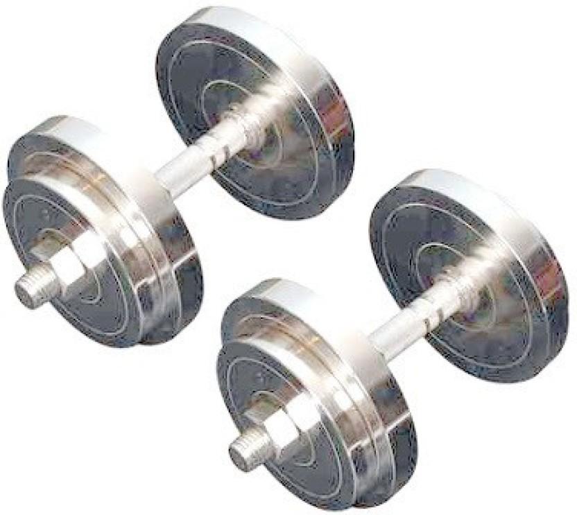 Protoner kg steel dumbbell set home gym kit buy protoner