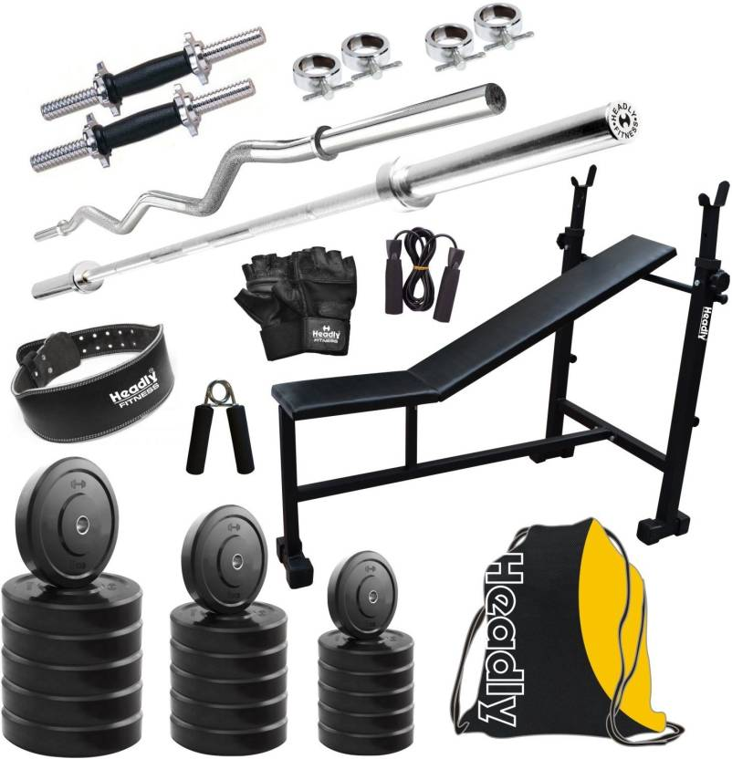 28b2b7130c0 Headly HY - 40 kg Combo 6 Home Gym Kit - Buy Headly HY - 40 kg Combo 6 Home  Gym Kit Online at Best Prices in India - Home Gym