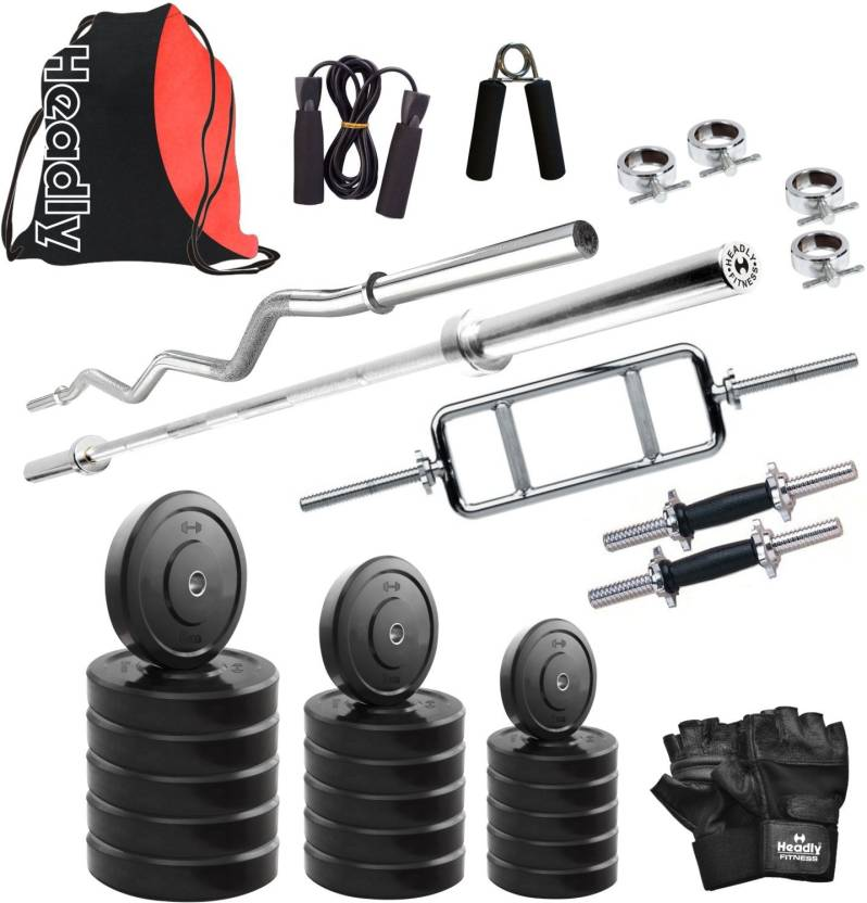 Headly HR 65 kg Combo 1 Home Gym Kit