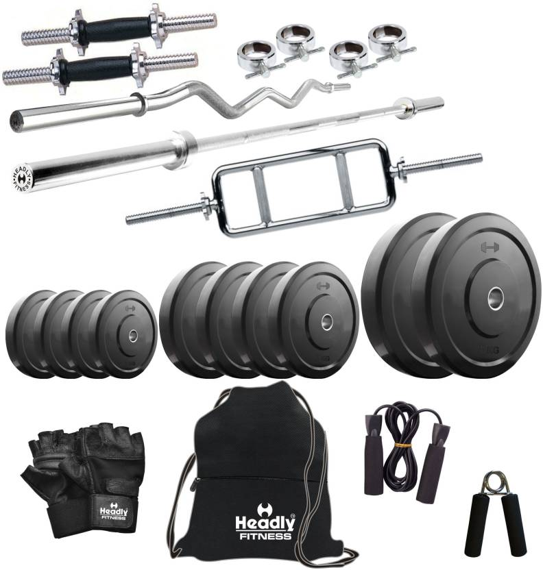Headly 70 kg combo 1 home home gym kit buy headly 70 kg combo 1