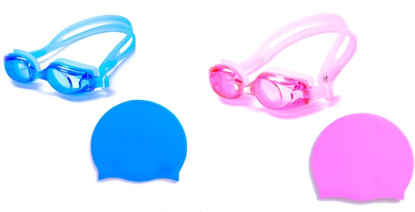 de682dad3972 Vinto Perfect Combo Of Blue   Pink Swimming Kit - Buy Vinto Perfect Combo  Of Blue   Pink Swimming Kit Online at Best Prices in India - Swimming
