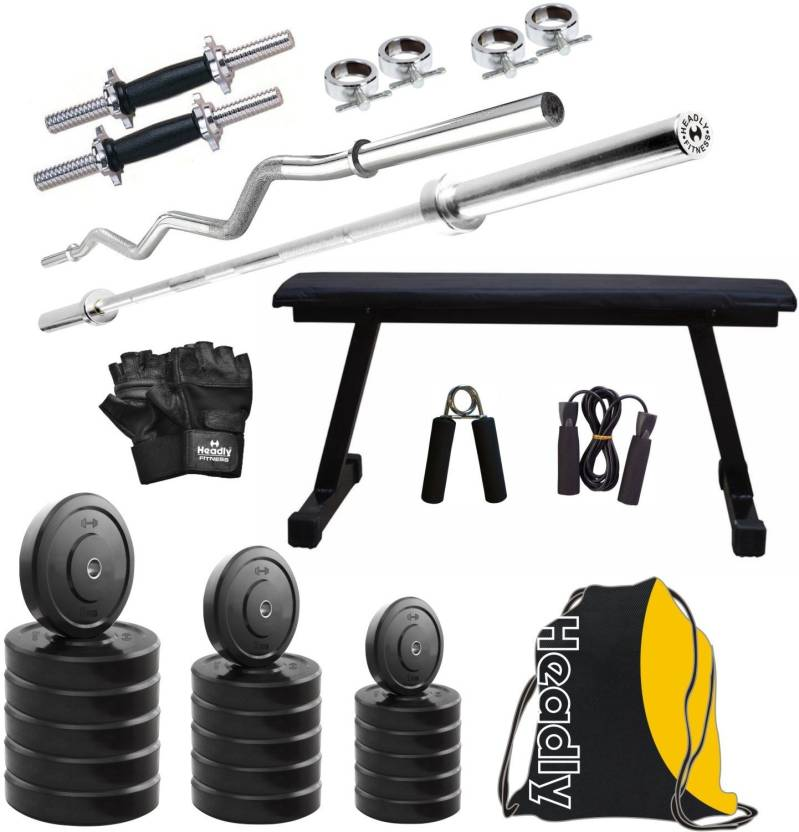 Headly HY   105 kg Combo 7 Home Gym Kit