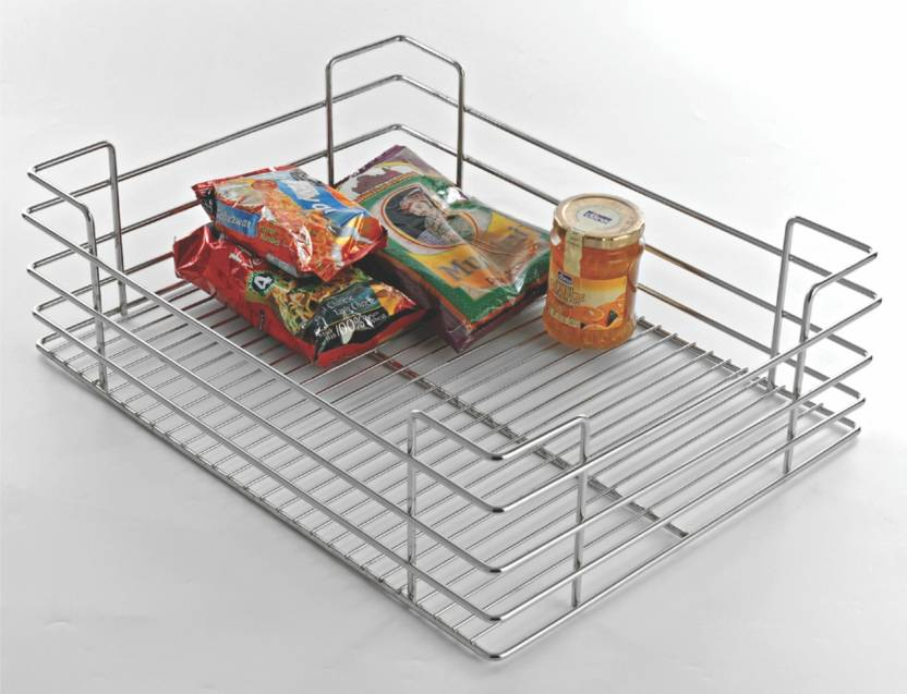Cocina Kitchen Solution Plain basket Stainless Steel Kitchen Rack ...