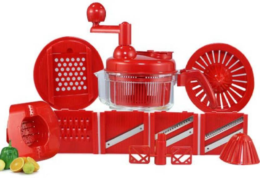 Ilo Ilo1000018794 Ilo All In One Kitchen Chopper Set Red Kitchen