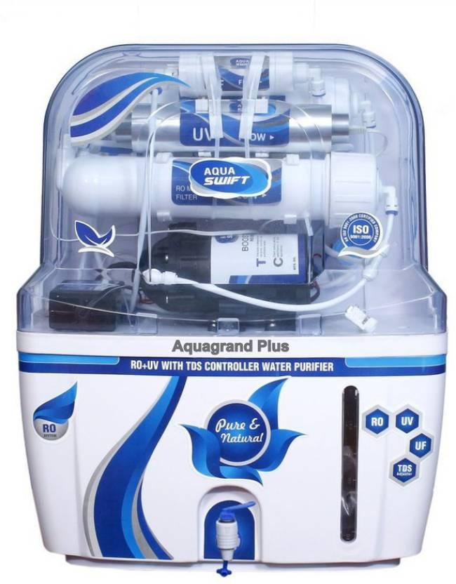 Aquagrand Plus OS Blu Swiftt AGP 12 L RO + UV + UF + TDS ...