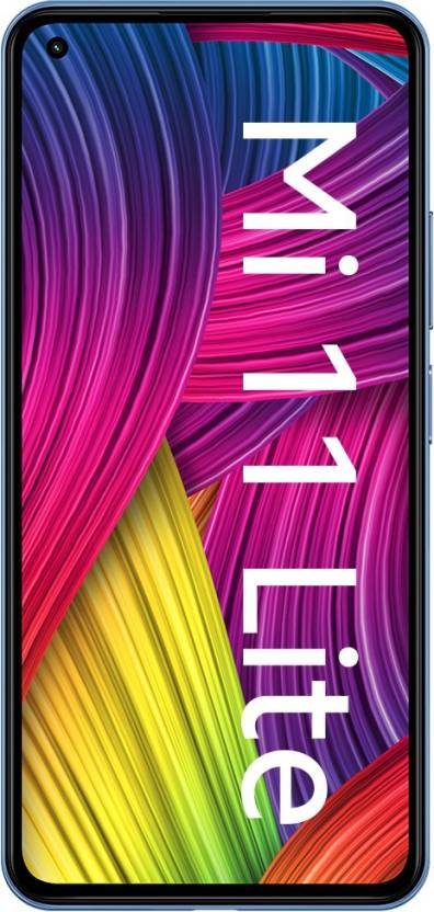 Mi 11 Lite (Jazz Blue, 128 GB)  (8 GB RAM)