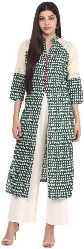 Jaipur Kurti Embroidered Women's Straight Kurta