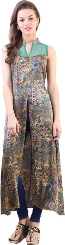 Libas Printed Women's A-line Kurta