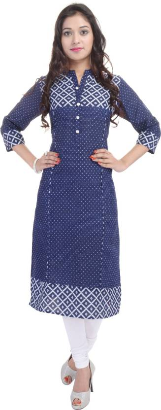 BluePocket Polka Print Women's Kurti