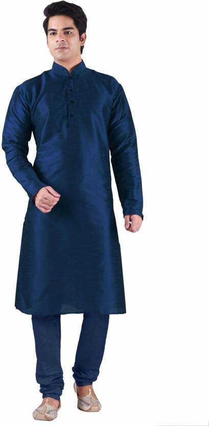 Sanwara Self Design Men's Straight Kurta