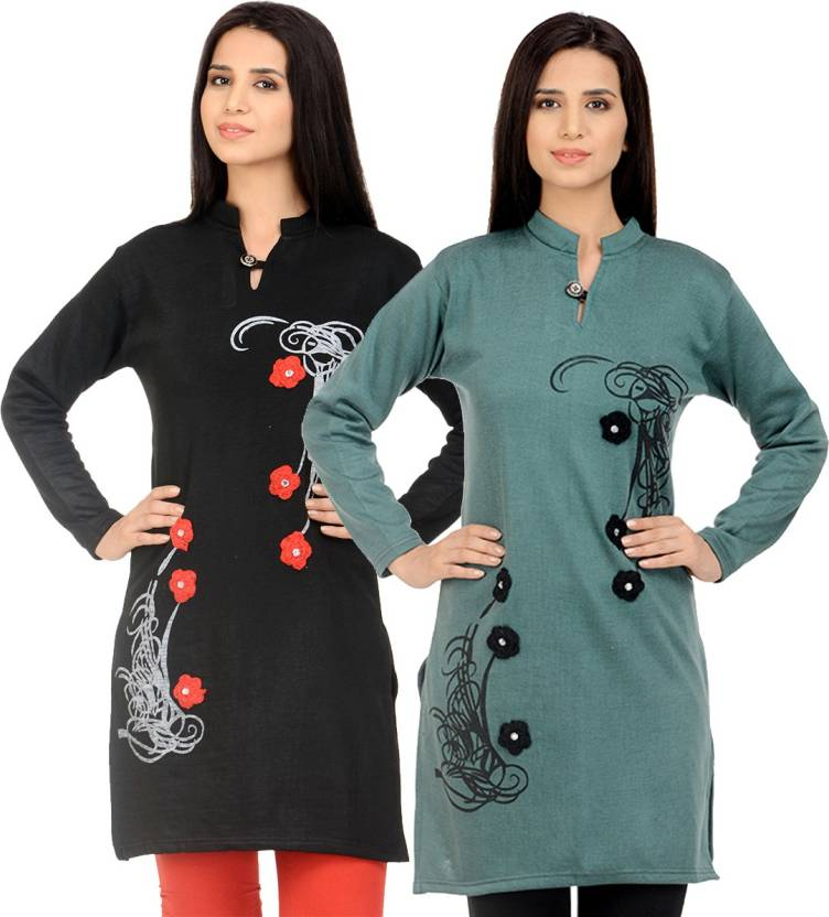4e2489c9e Rakshita Collection Casual Self Design Women s Kurti - Buy ...