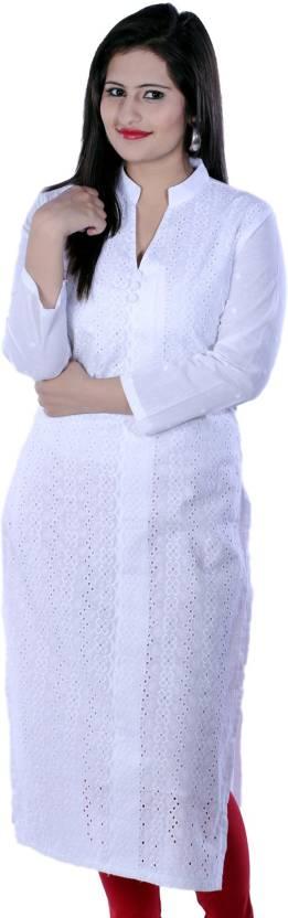 Sukanyaa Sukanyaa Self Design Women's Straight Kurta